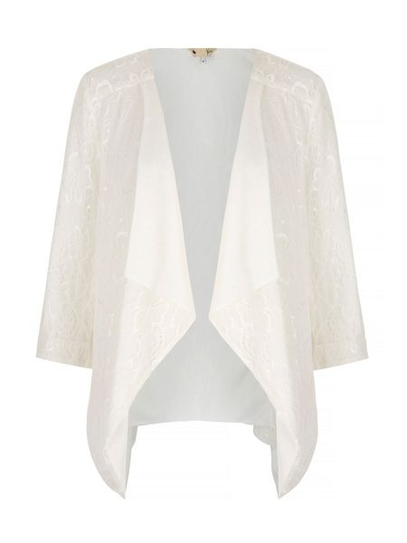 Yumi Lace Waterfall Jacket