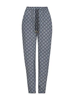 Tile Print Trousers