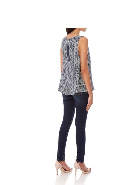 Yumi Tile Print Camisole Top