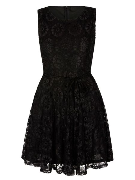 Mela London Daisy Lace Skater Dress