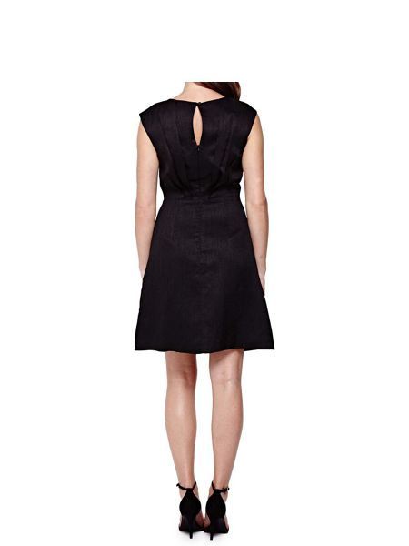 Yumi Sleeveless Dress With Diamante Trim