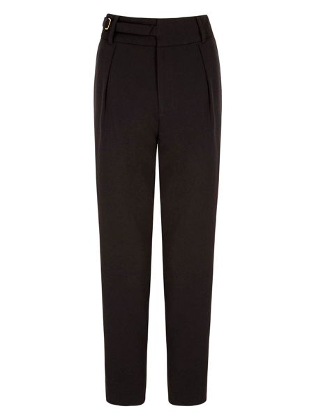 Yumi Relaxed Trousers With Belt Detail