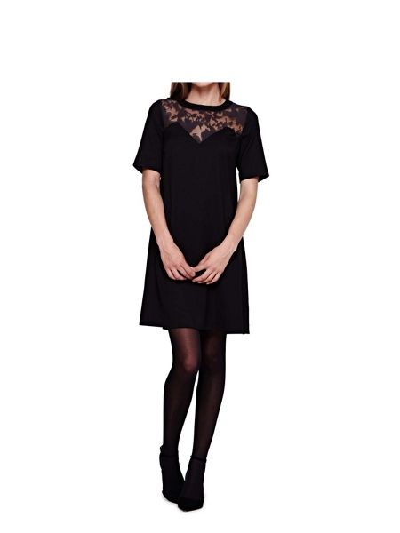 Yumi Shift Dress With Floral Detail