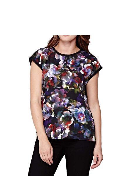 Yumi Cherry Blossom Printed Top