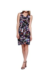 Yumi Cherry Blossom Printed Party Dress