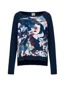 Yumi Jumper With Bird Print