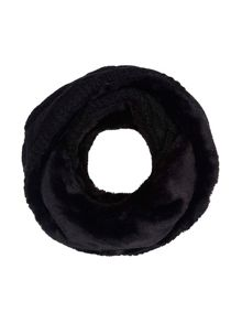 Yumi Faux Fur Chunky Knitted Snood