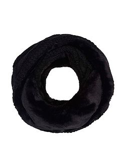 Faux Fur Chunky Knitted Snood