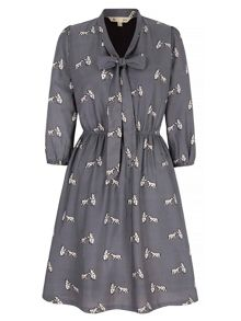 Yumi Polar Bear Printed Dress