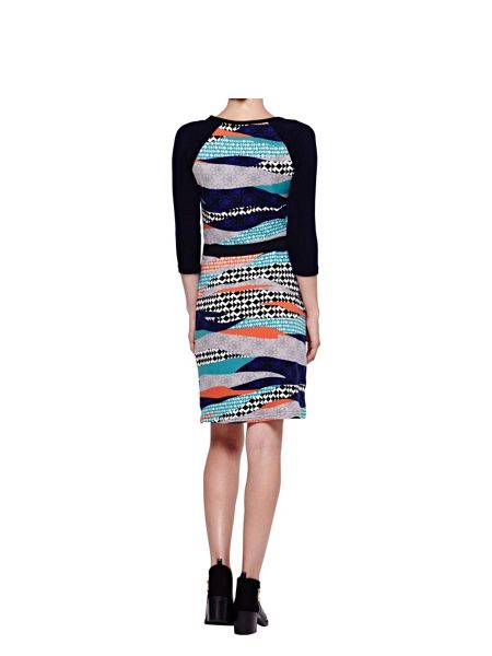 Yumi Graphic Printed Tunic Dress
