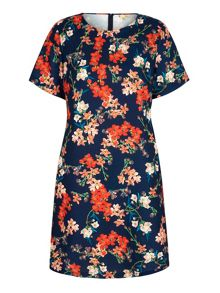 Yumi Blossom Printed Tunic Dress