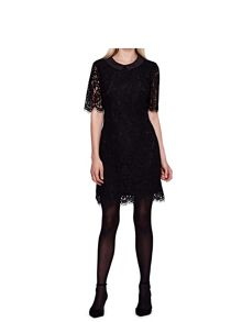 Yumi Shift Dress with Lace