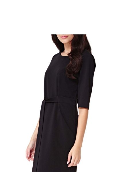 Yumi Jersey Wrap Dress With Front Tie