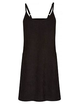 Suedette Shift Dress