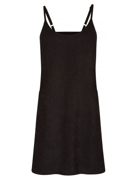 Yumi Suedette Shift Dress