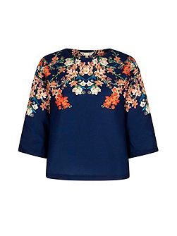 Blossom Printed Tunic Top