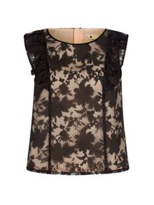 Yumi Crop Top With Lace