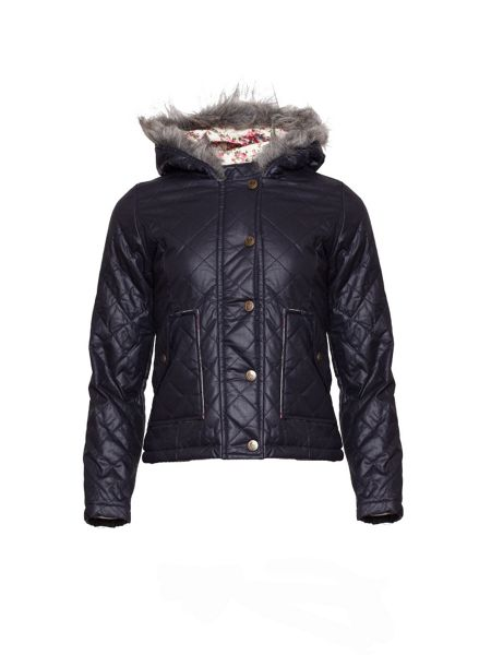 Yumi Girls Girl`s quilted jacket
