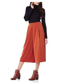 Yumi Wide Leg Culotte Trousers