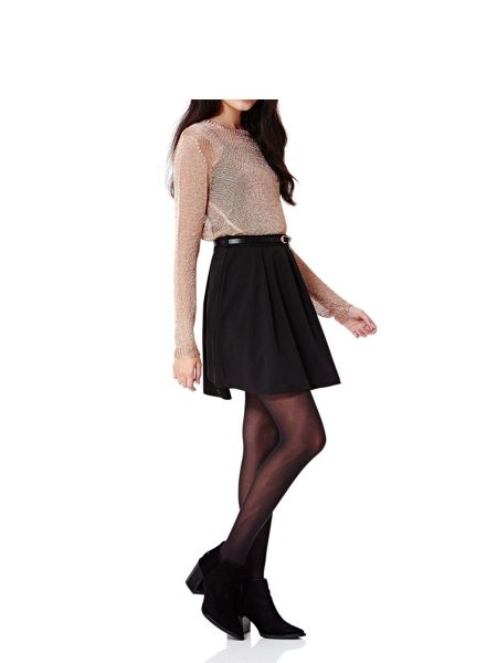 Yumi Skater Skirt With Belt