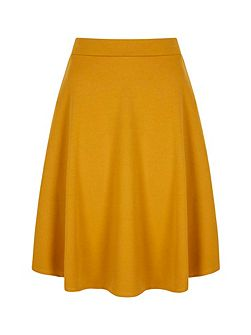 Midi Length Plain Skirt