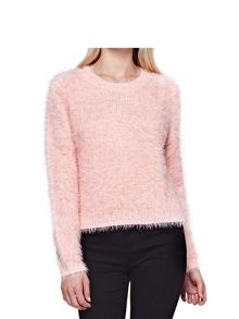 Yumi Fluffy Relaxed Fit Jumper