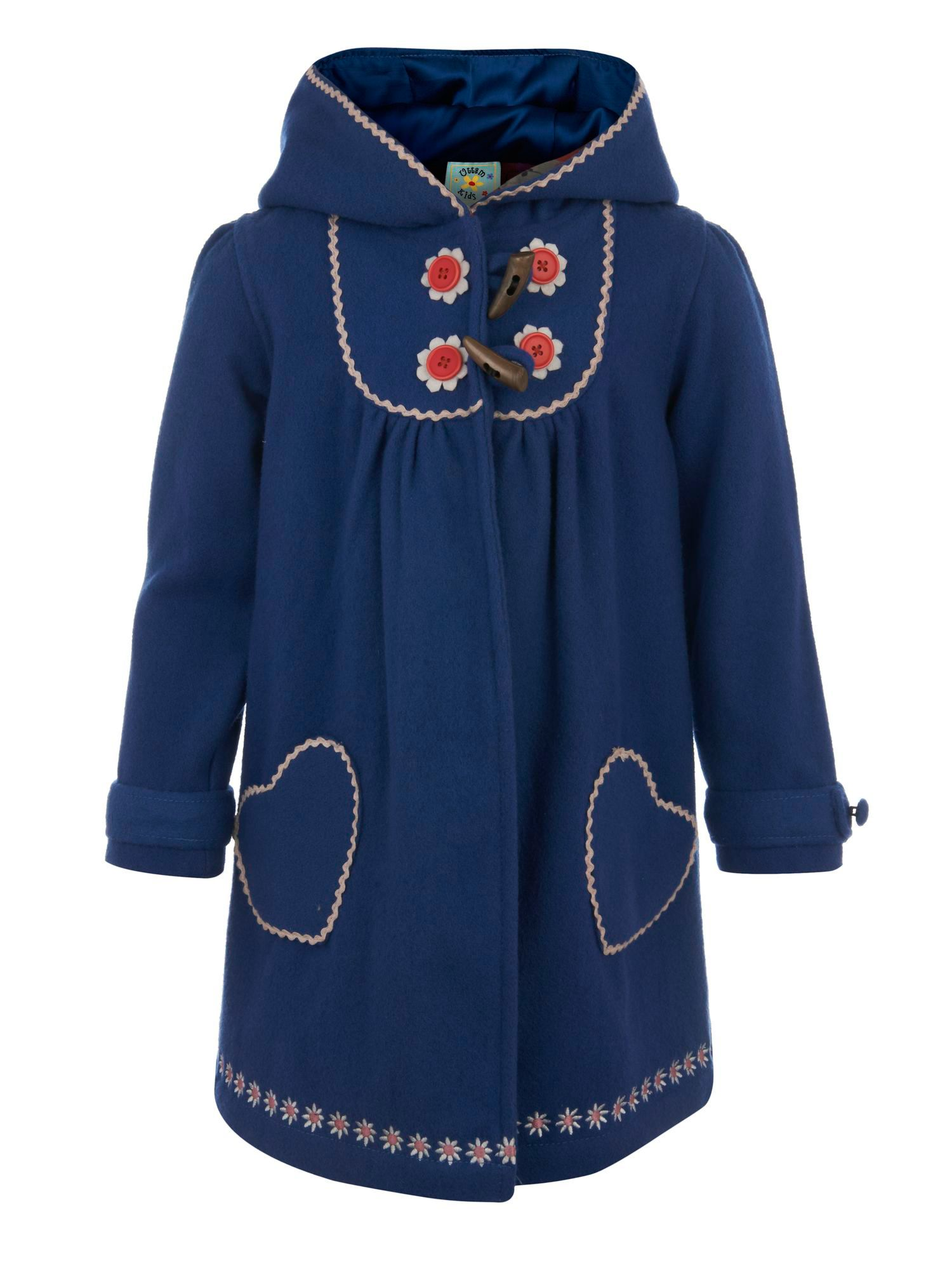 Girl`s toggle coat