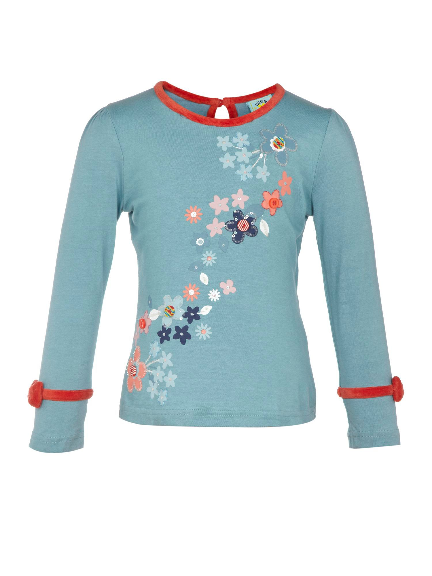 Girl`s flower power top