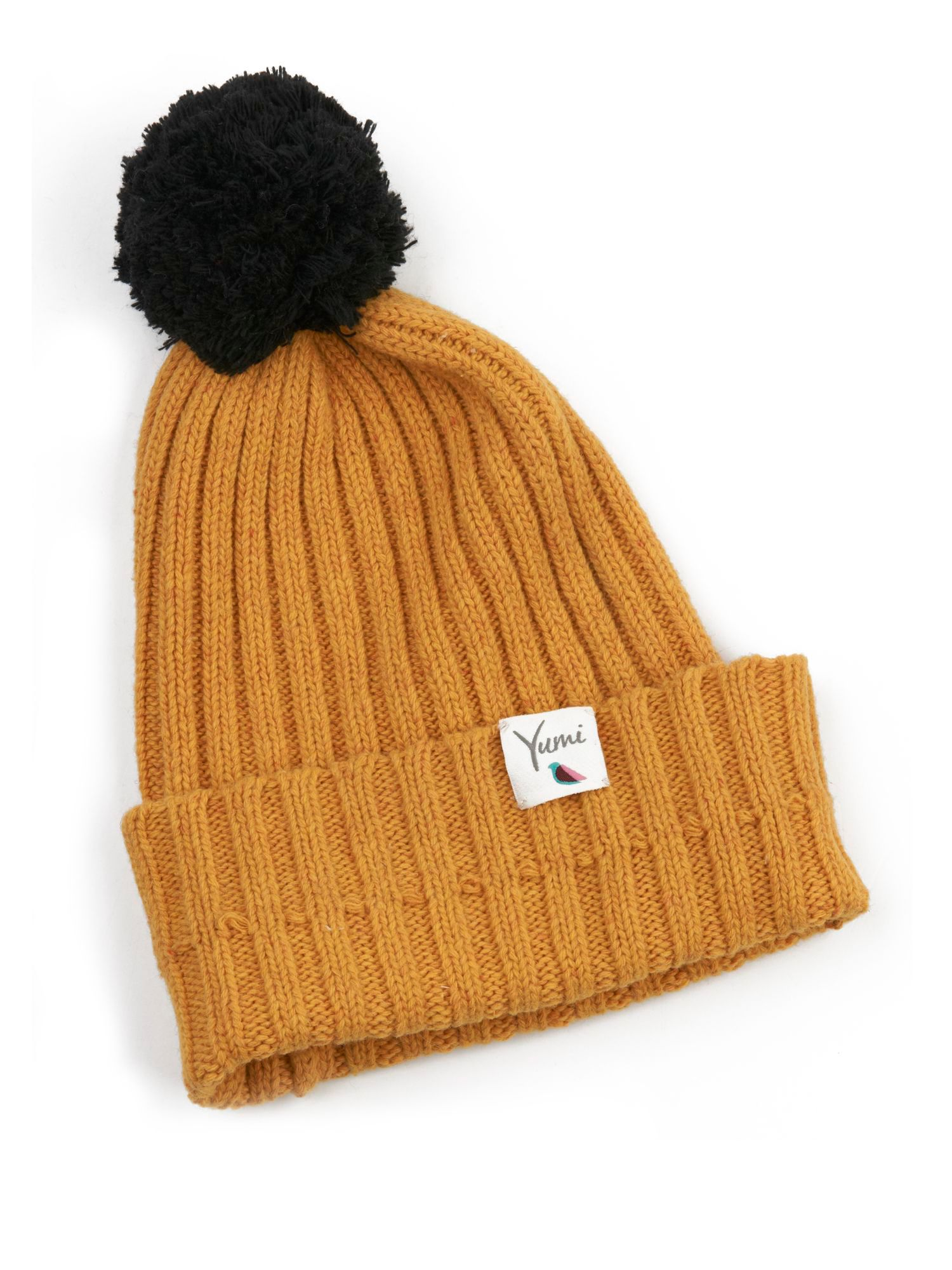 Bobble hat.