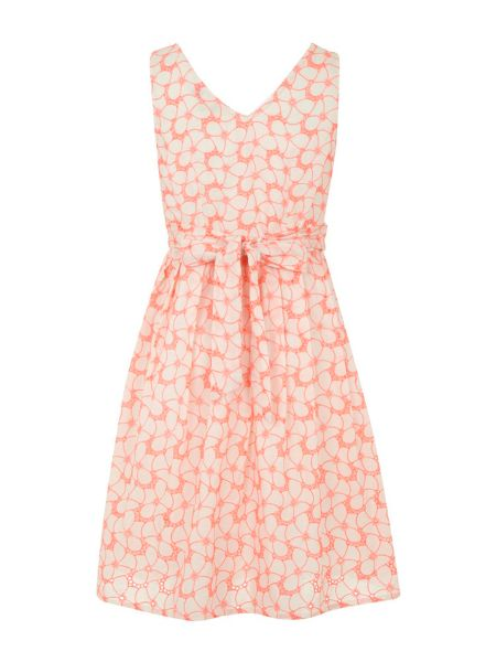 Yumi The neon floral dress