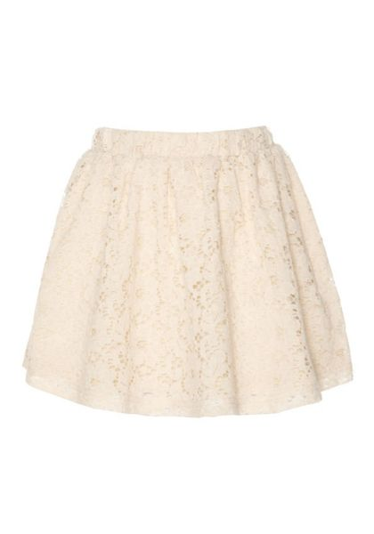 Yumi Girls Girl`s a-line lace skirt