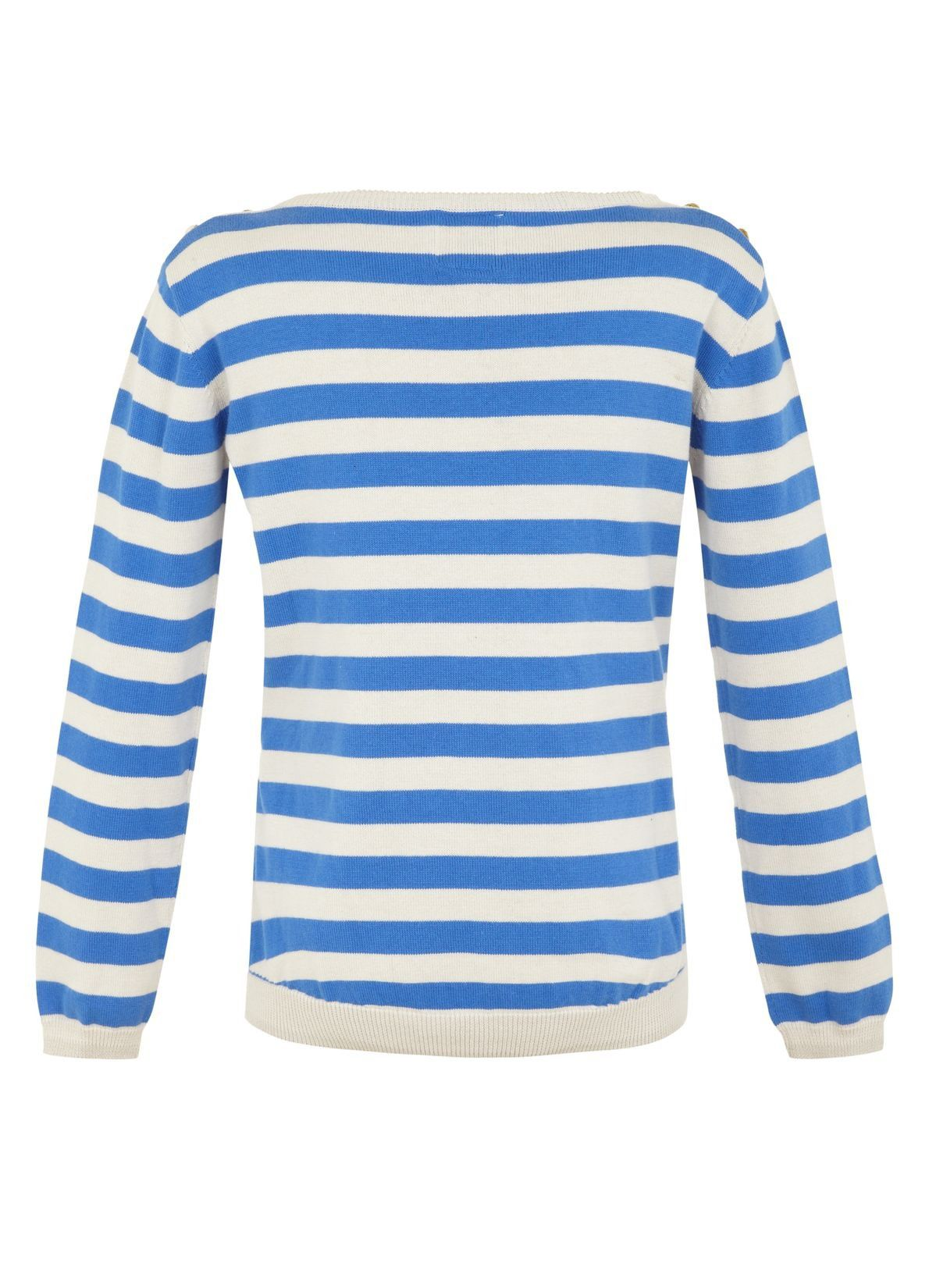 Girl`s toucan stripe jumper