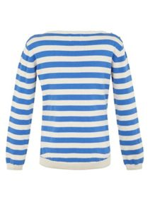 Yumi Girls Girl`s toucan stripe jumper
