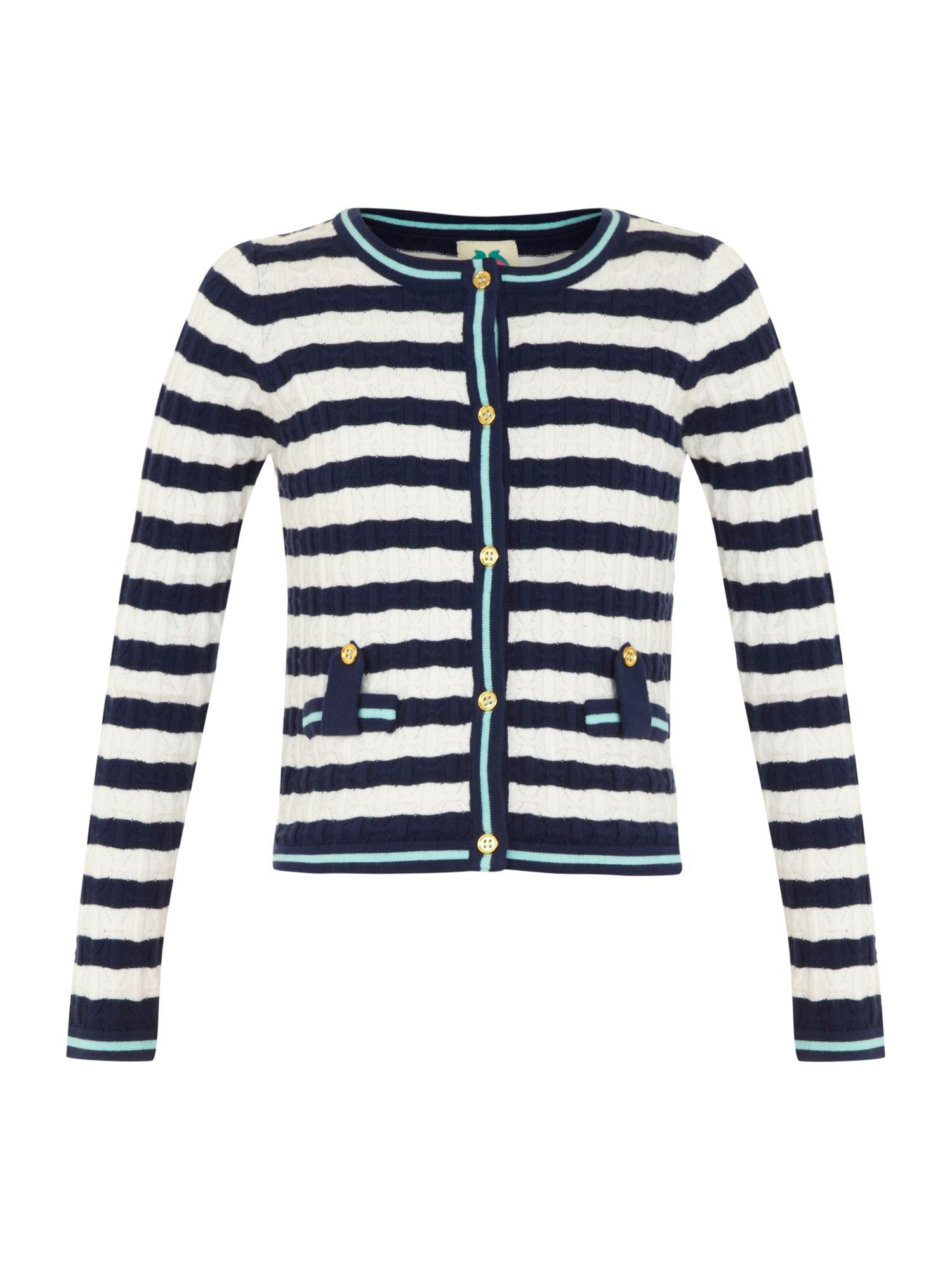 Girl`s stripe cardigan