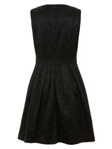 Triangle cut-out dress