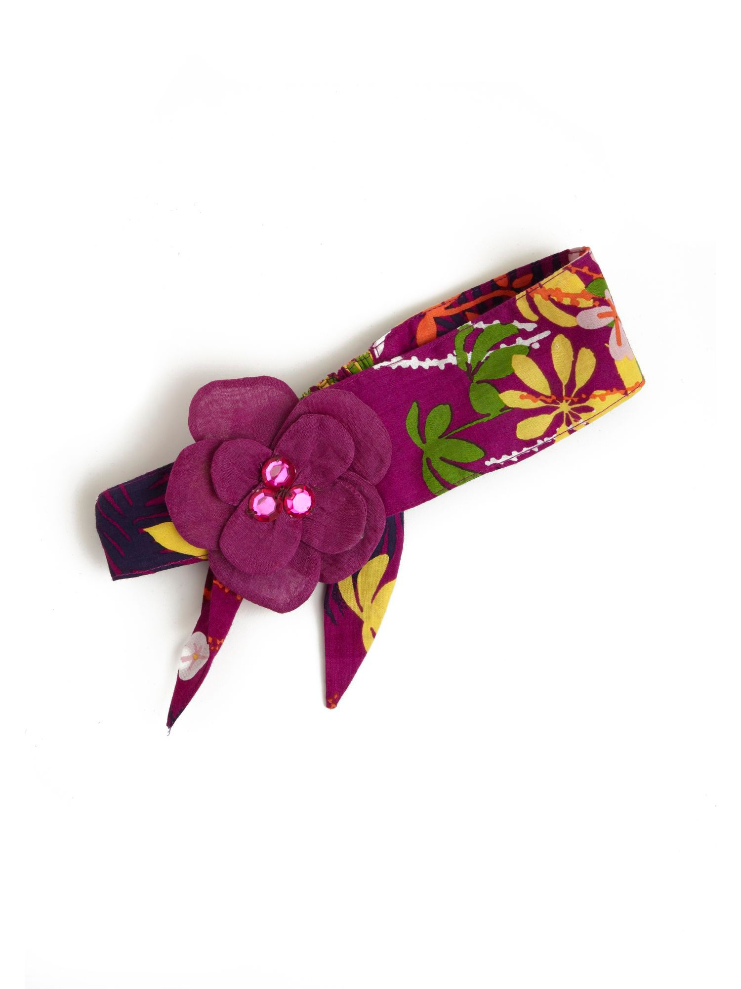 Girl`s rainforest headband