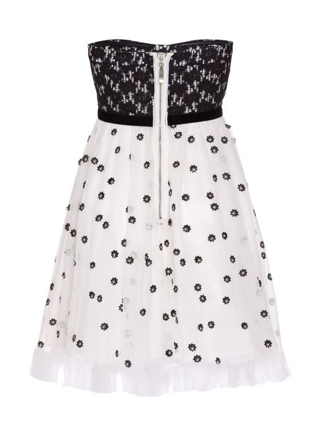 Yumi Flower print prom dress