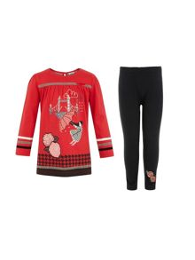 Girls london tunic and leggings