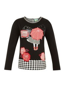 Girls london top