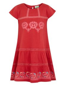 Girls folk dress