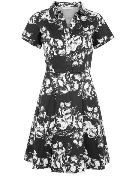 Uttam Boutique City Floral Print Dress