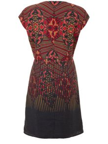 Deco Tribe Print Dress