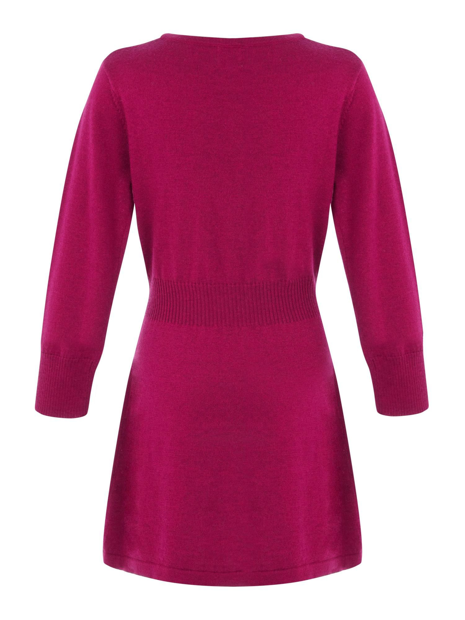 Girls heart jumper dress