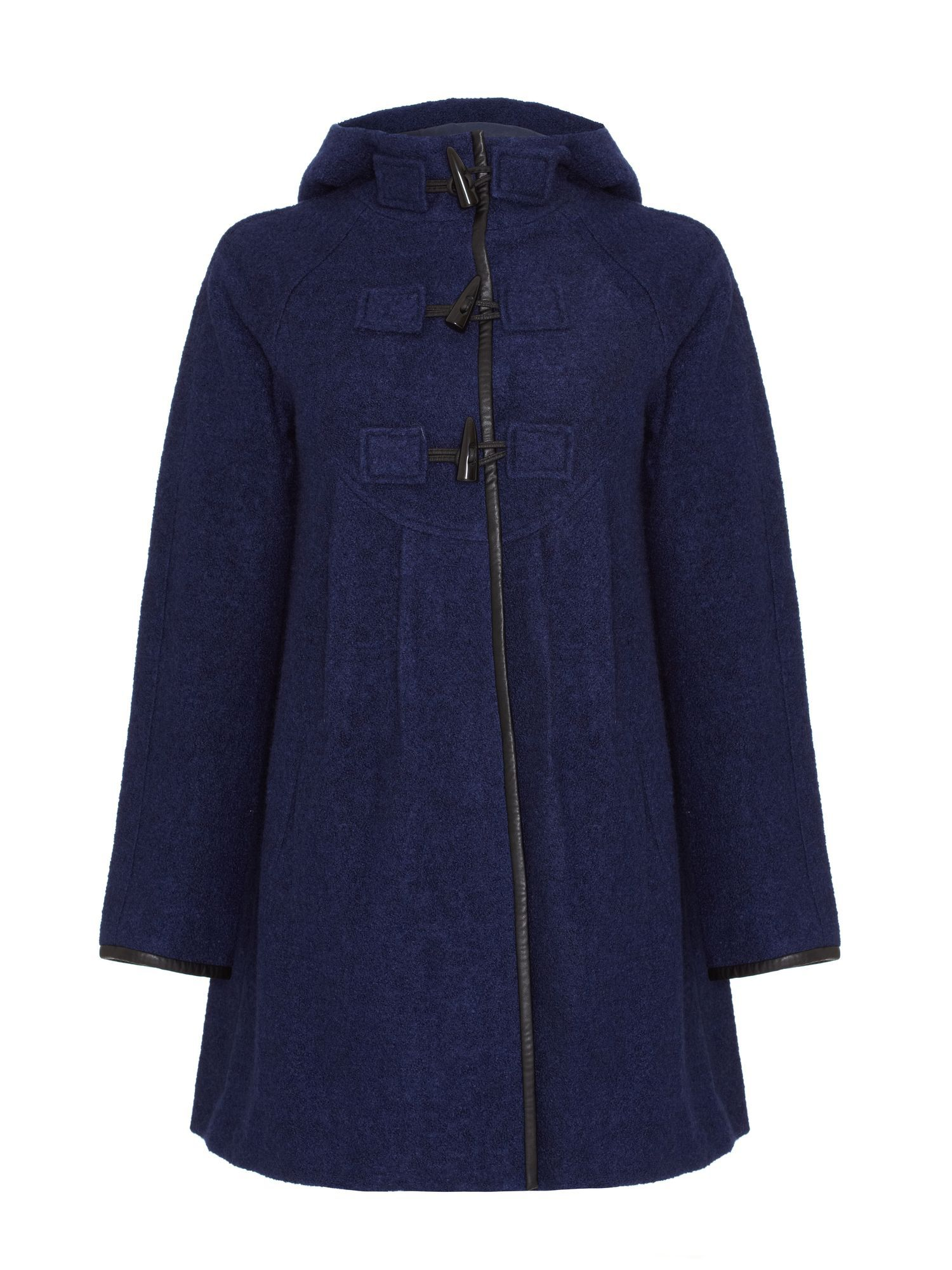Injection duffle coat
