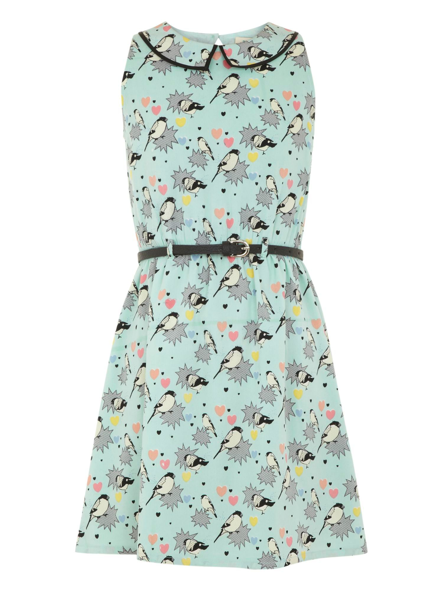 Girl`s pop art dress