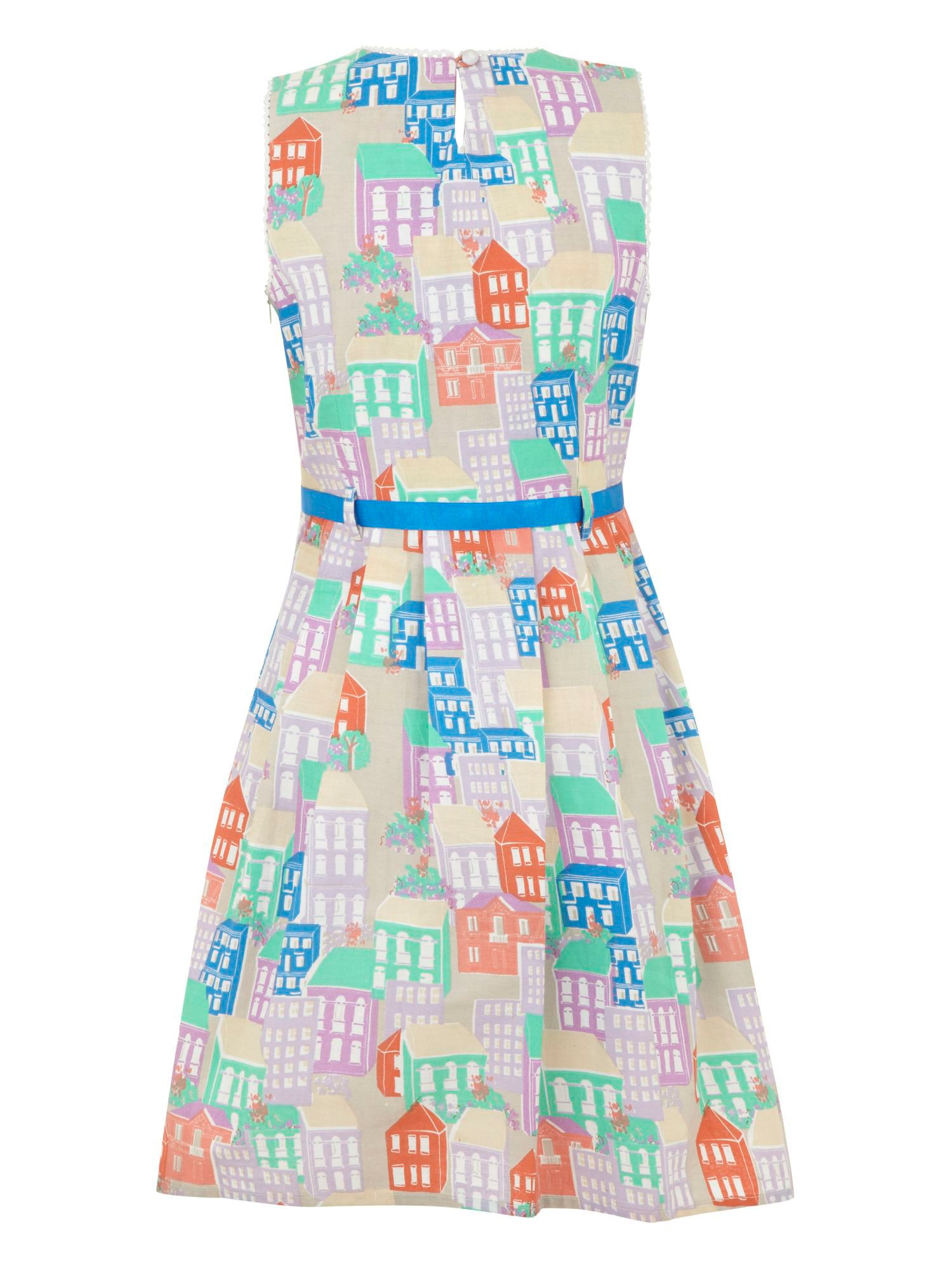 Girl`s house dress