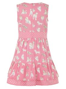 Girl`s 50`s pooch dress