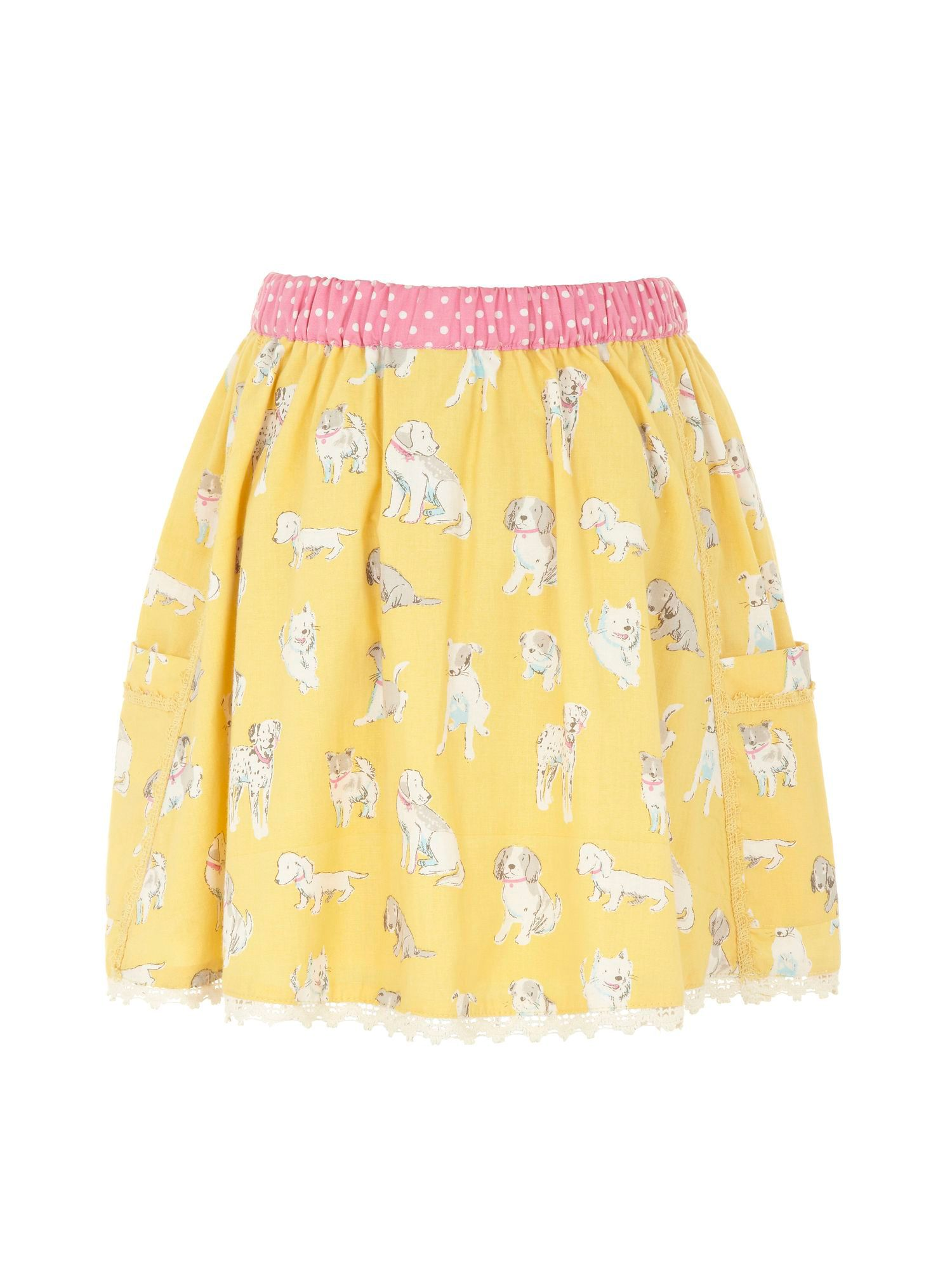 Girl`s pooch skirt