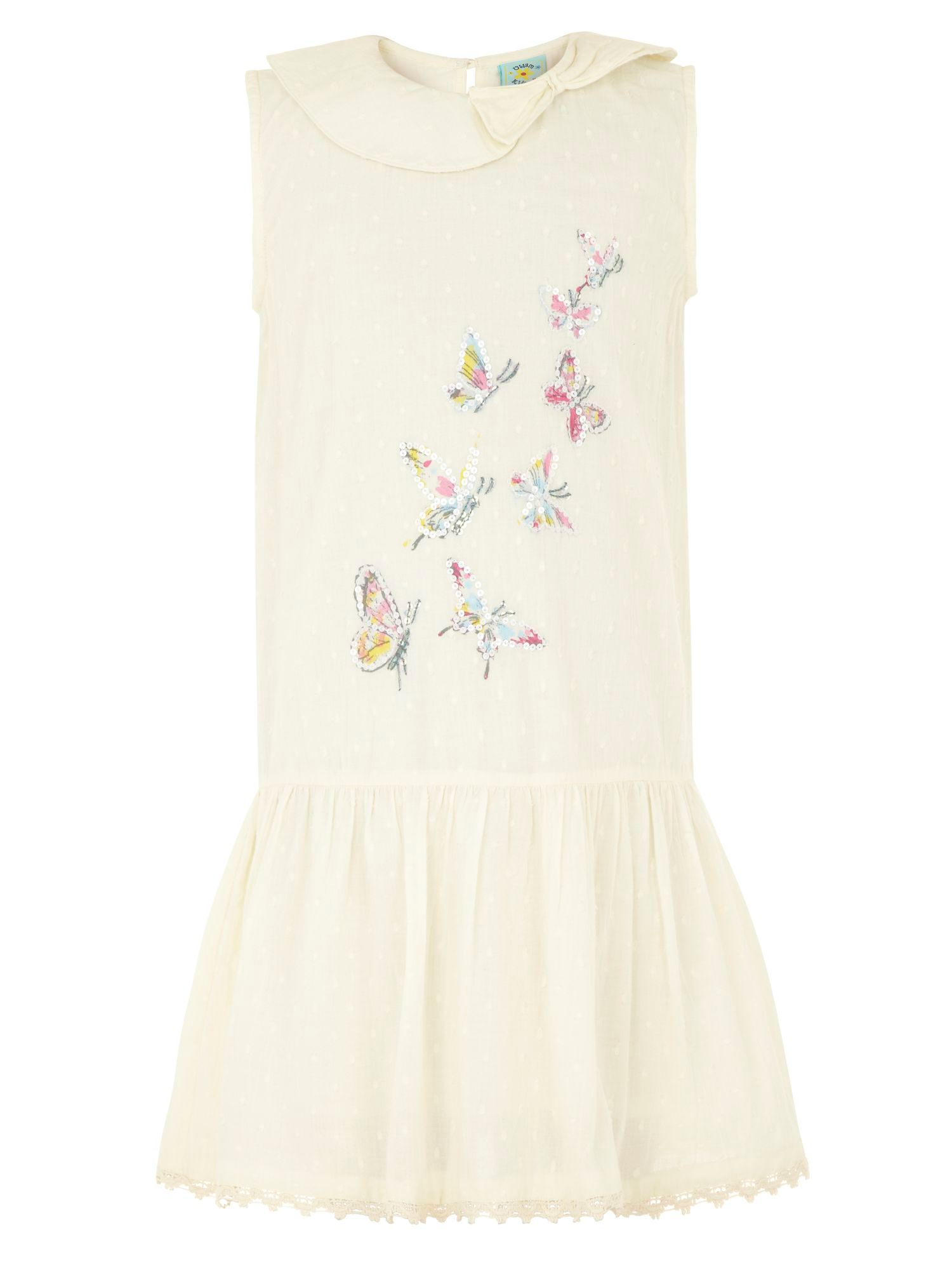 Girl`s butterfly dress