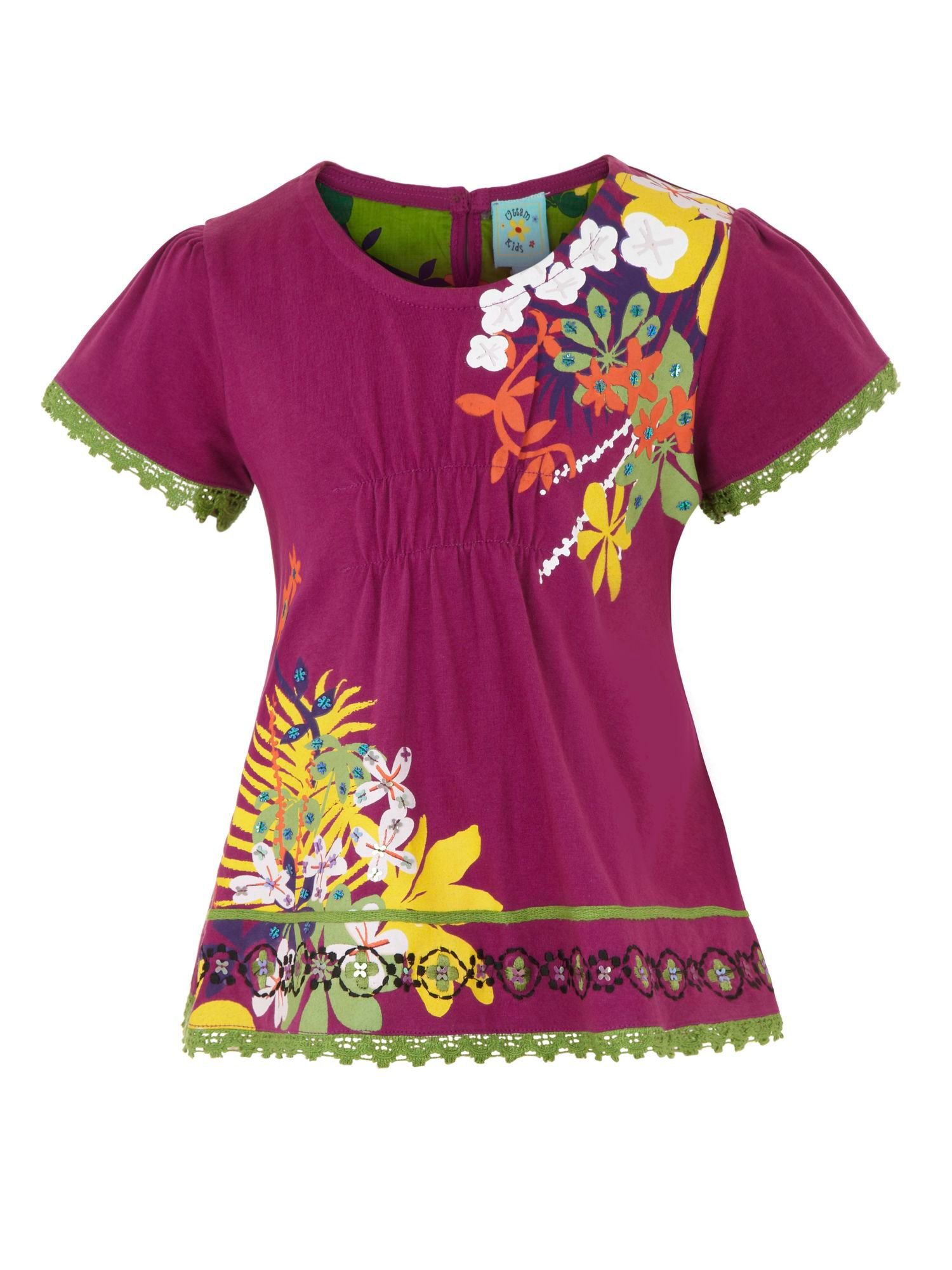 Girl`s rainforest t-shirt